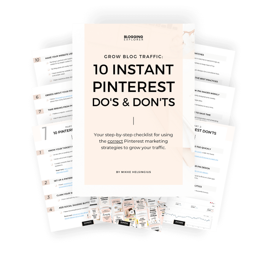 10 Instant Pinterest Marketing Dos and Donts - Free Pinterest Marketing Guide for Beginners