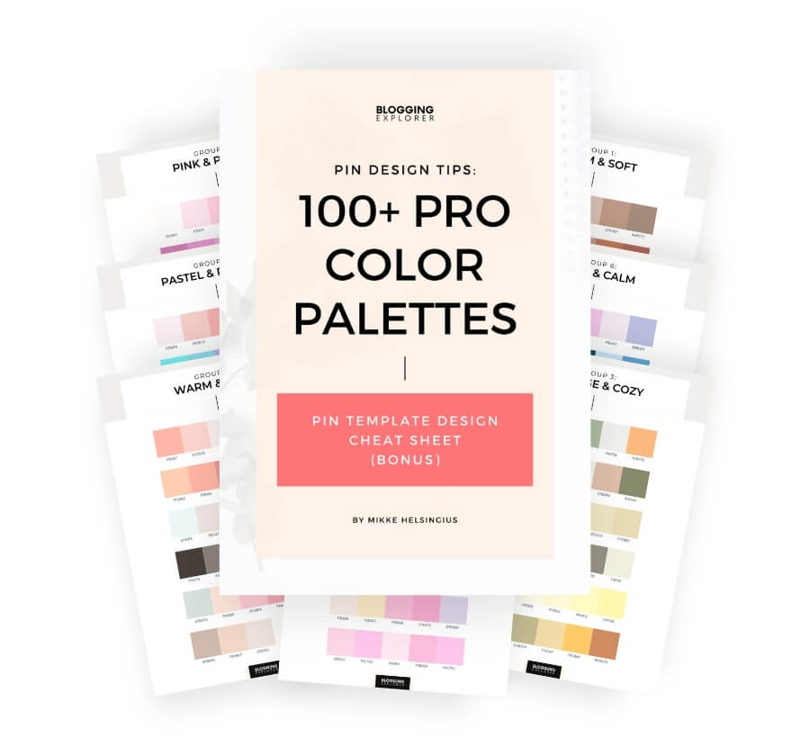 100 Pro Color Palettes Handbook - Blogging Explorer