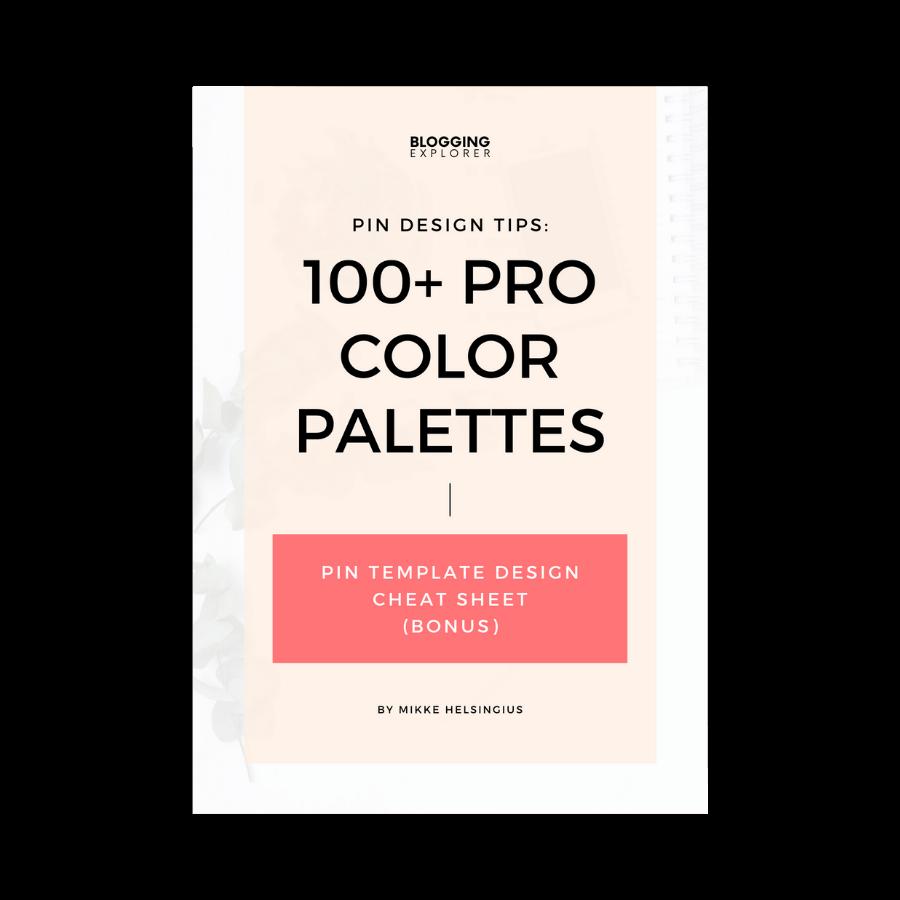 100 Pro Color Palettes cover