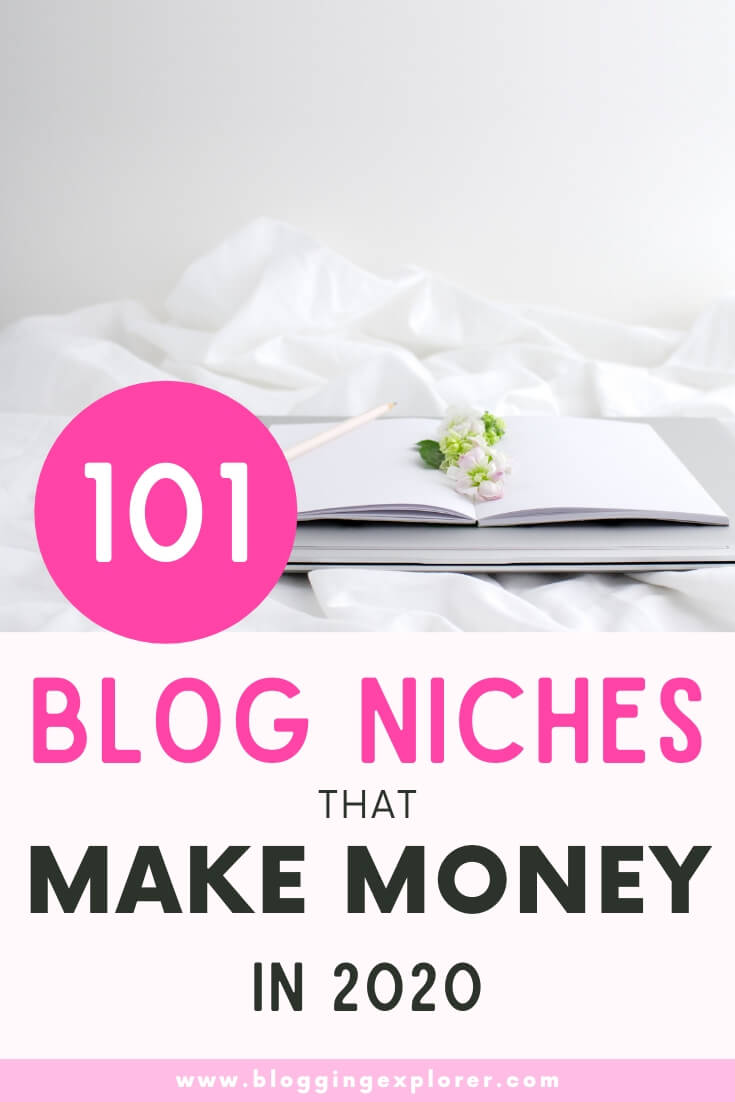 Blog niche ideas that make money - Profitable blog topics for beginners to start a blog