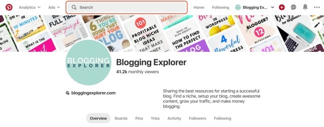 Blogging Tips for Beginners - How to find the best Pinterest keywords to grow your blog and generate blog traffic to make money blogging