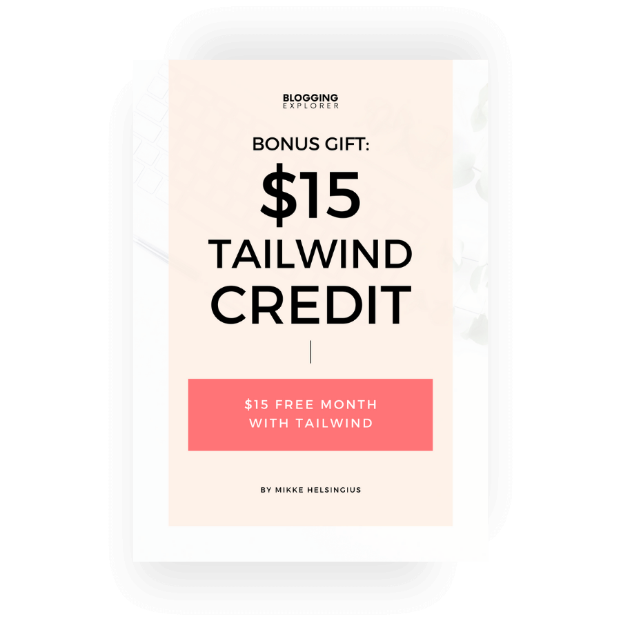 Bonus Gift Tailwind Credit cover