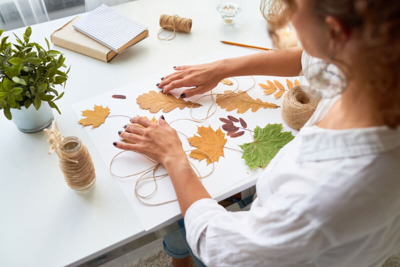 DIY, arts and crafts blog - Blog topic ideas for passive income online