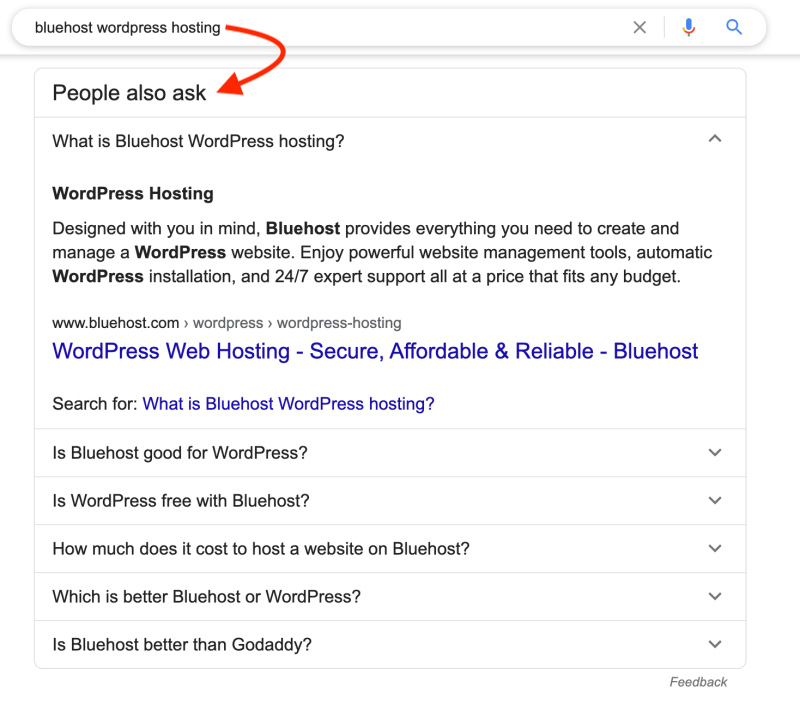 Drive blog traffic with SEO - Related questions on Google