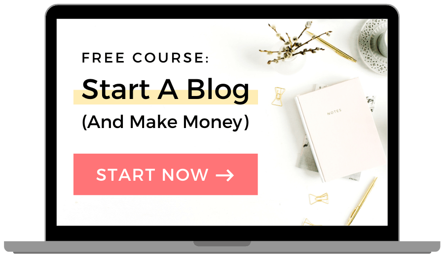 Free Blogging Course for Beginners - Start a profitable blog in 7 days