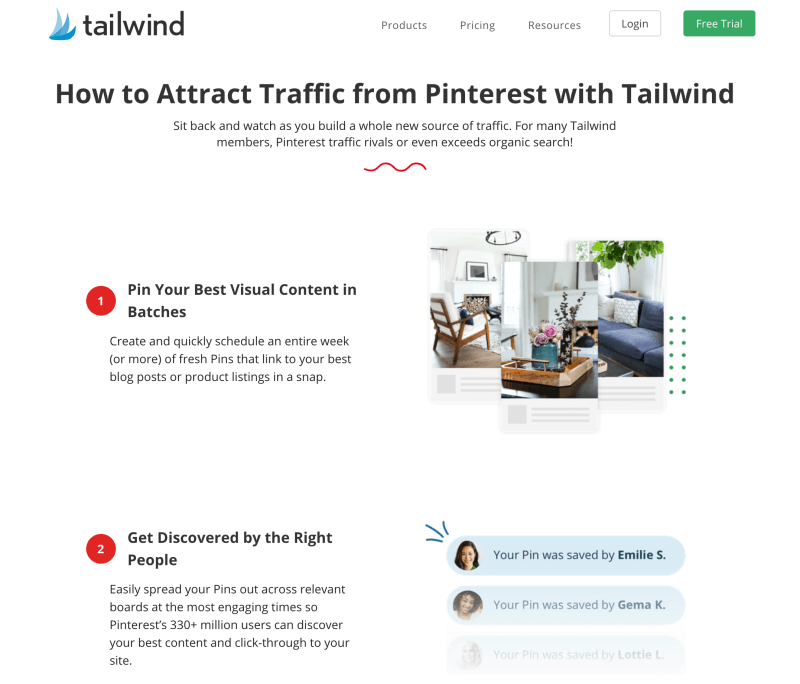 Generate blog traffic from Pinterest with Tailwind