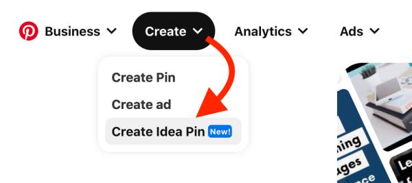 How to create an Idea Pin - Create an Idea Pin draft on Pinterest