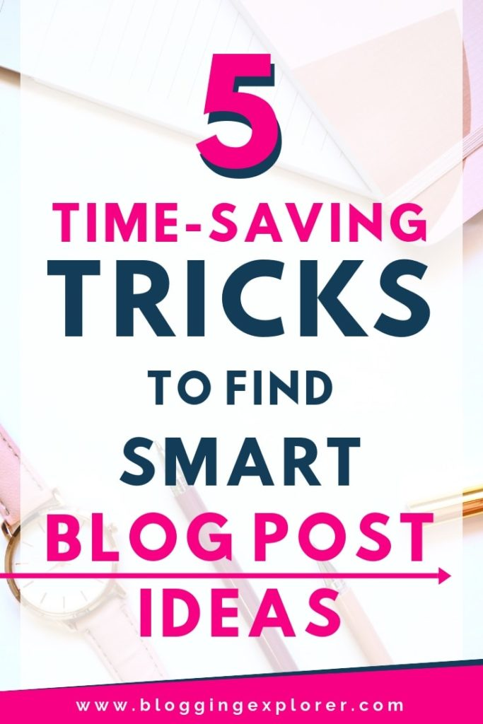 How to find blog post ideas that generate traffic and allow you to make money blogging