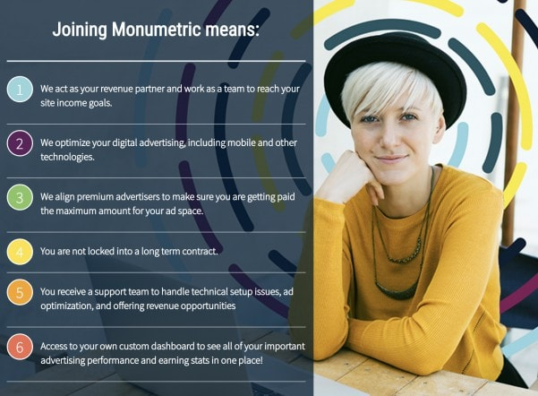 How to join Monumetric to monetize your blog traffic