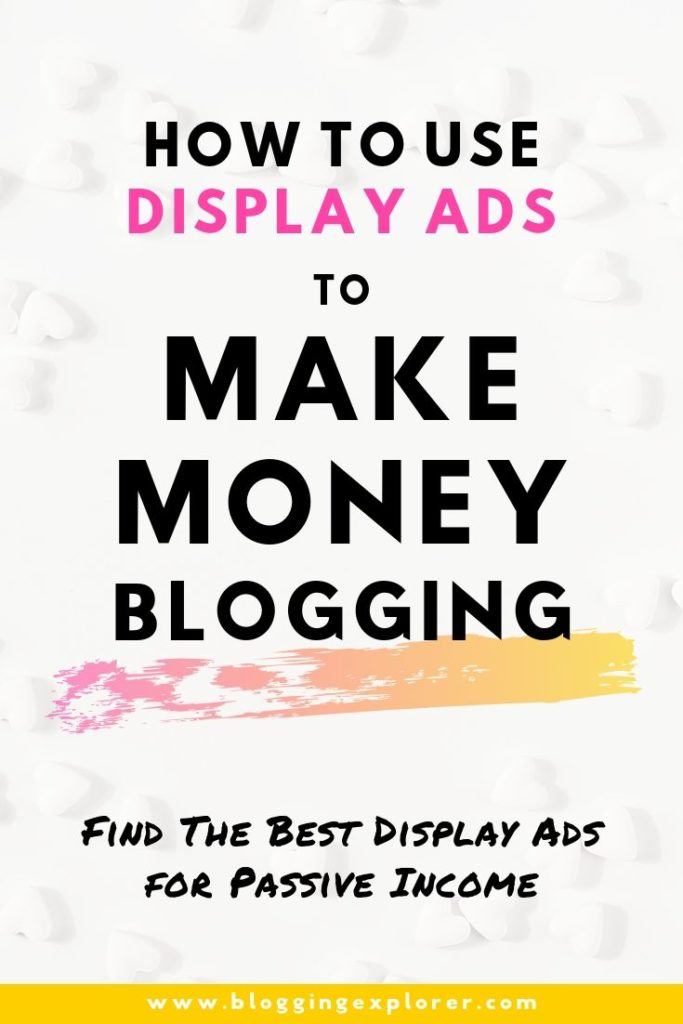 How to make money blogging with display ad networks