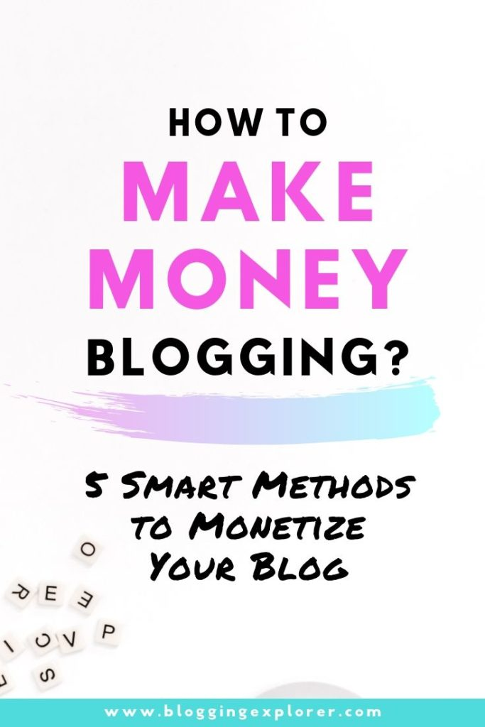 How to monetize your blog and make money online - Best monetization methods for passive income
