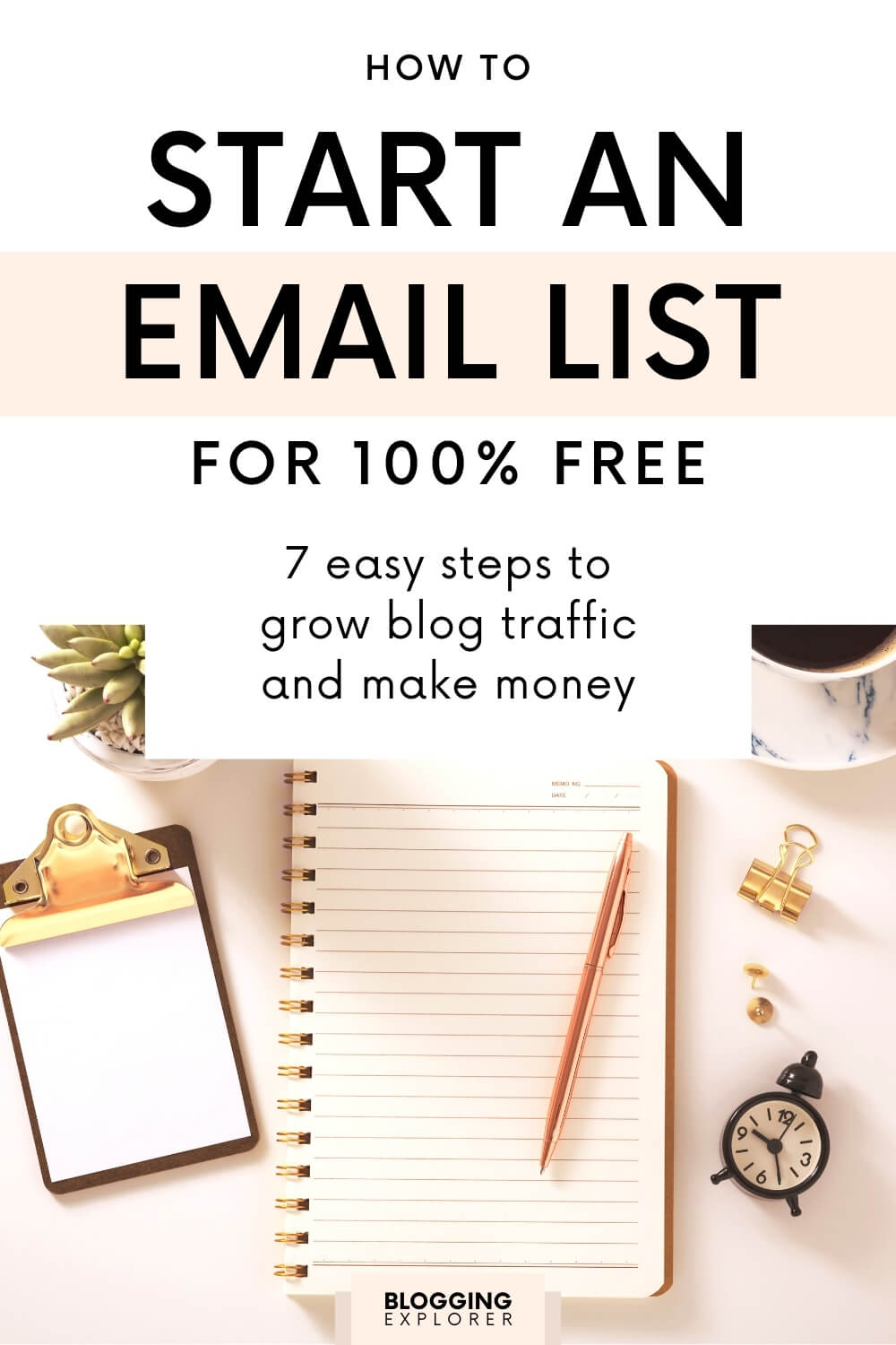 How to Start an Email List as a Beginner Blogger: 7 Easy Steps
