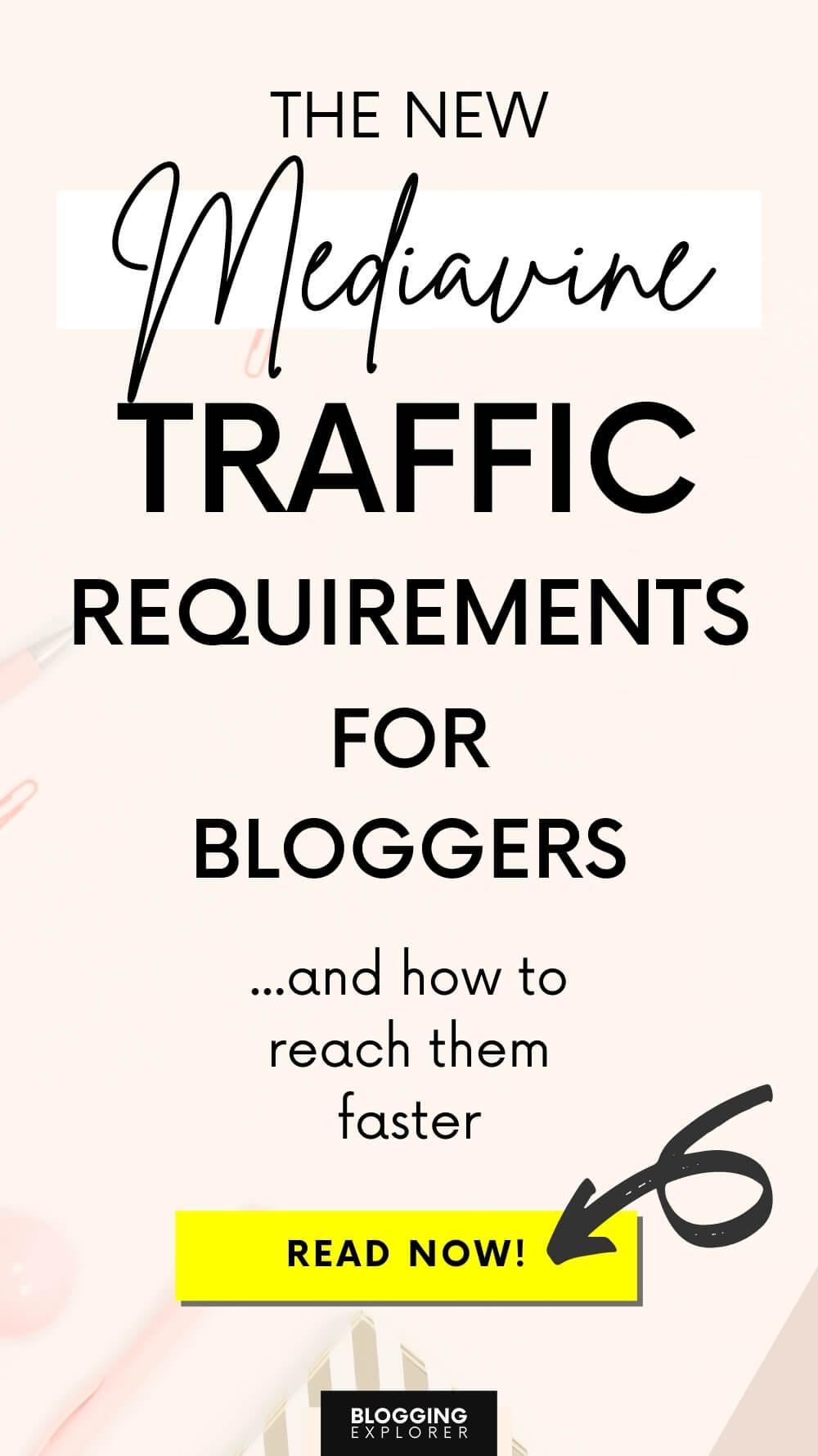 Mediavine requirements for publishers - How to make money blogging with display ad networks