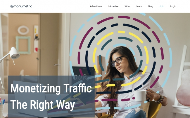 Monumetric - Monetize your blog traffic with display ads - Best ad networks for bloggers
