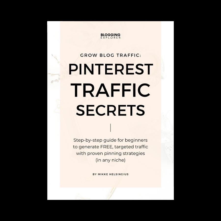 Pinterest Traffic Secrets cover