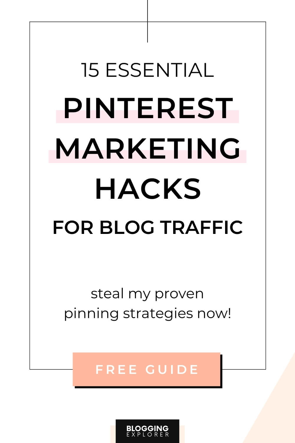 Pinterest marketing strategy guide for beginners - Grow blog traffic easily