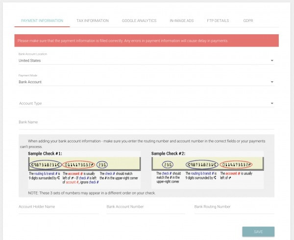 Setting up your Monumetric Dashboard