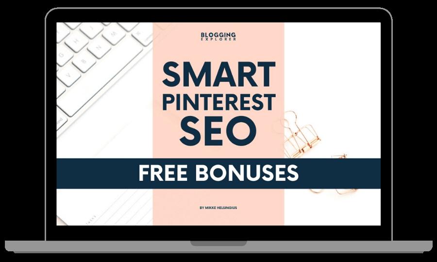 Smart Pinterest SEO Blog Traffic Guide - Bonus Content