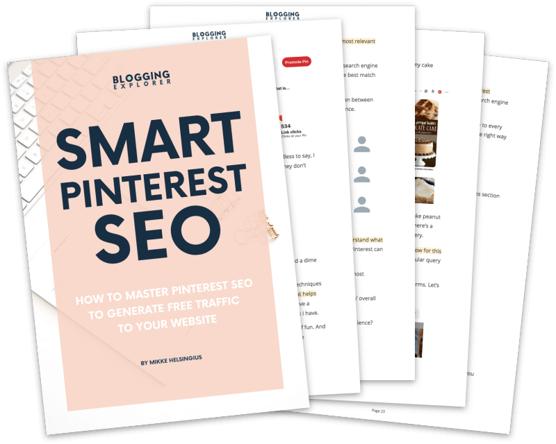 Smart Pinterest SEO Book - How to drive free traffic to your blog
