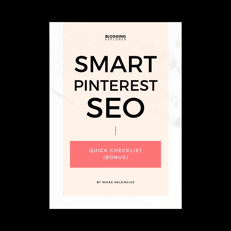 Smart Pinterest SEO cover