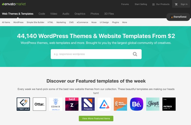 The Best WordPress Themes for Bloggers and Blogging - Themeforest