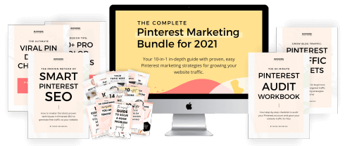 The Complete Pinterest Marketing Bundle - Grow your blog traffic with Pinterest
