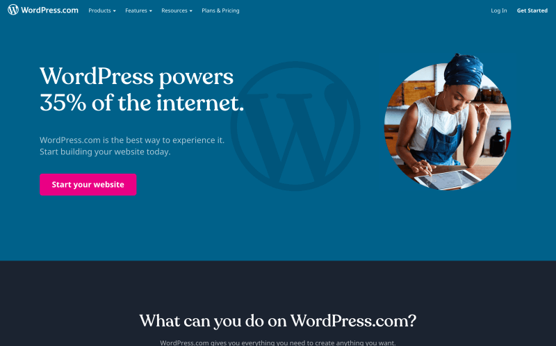 Wordpress.com - How to start a blog and make money - What WordPress version should you choose