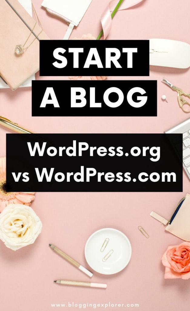 Wordpress.org vs WordPress.com - What's the Difference?
